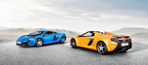 Orange-and-Blue-color-Mclaren-650S