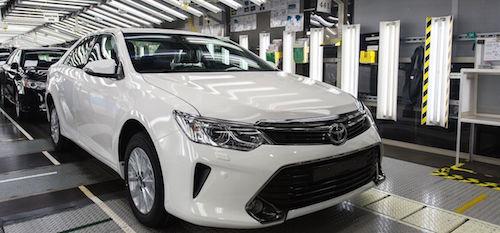 Завод Тойота в Санкт-Петербурге_новая Toyota Camry