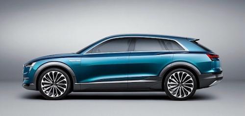 Новый Audi Q6 e-tron поступит в продажу в 2018 году