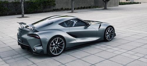 Концептуальная версия купе Toyota Supra дебютирует в 2016 году
