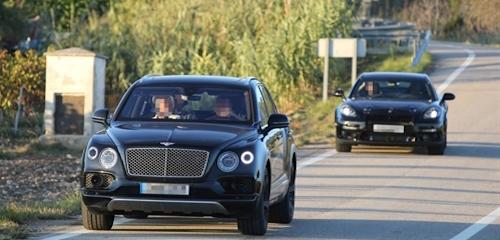 Новый Bentley Continental GT тестируют в кузове Porsche Panamera