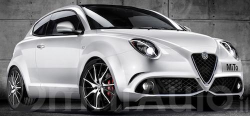 В Сети опубликован рендер обновленного Alfa Romeo MiTo