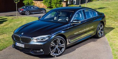 В Интернете появились первые рендеры нового BMW 5-Series