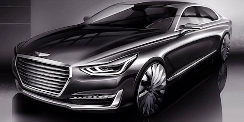 Новый премиальный седан Genesis G90 собрал 4 тыс. заказов за сутки