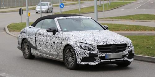Кабриолет Mercedes-Benz С-Сlass появится в продаже в 2016 году