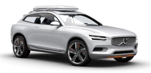 Фото: Volvo XC-40 - концепт