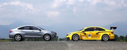 Lada Vesta сразится за победу в финале мирового чемпионата по турингу