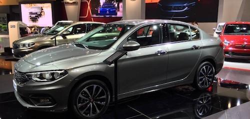 Fiat представил новый бюджетный седан Tipo