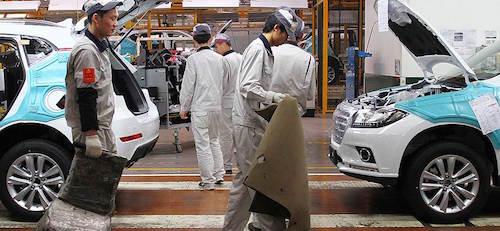 Китайские автомобильные концерны покидают российский авторынок