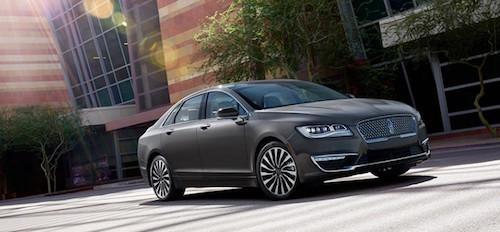 Модель MKZ стала самым мощным седаном компании Lincoln