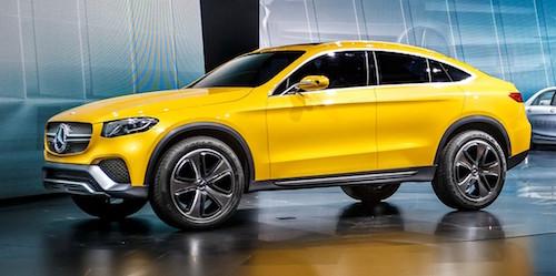Новый Mercedes-Benz GLC Coupe готов к выходу в продажу