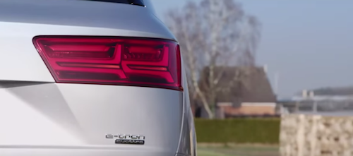 Audi SUV Q7 e-tron