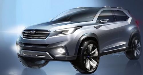 Subaru выпустить семиместный кроссовер Японский автопроизводитель Субару официально по