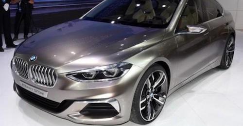 BMW представила в Гуанчжоу предвестника седана 1-Series