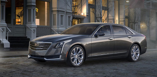 Компания Cadillac опубликовала цены на флагманский седан CT6