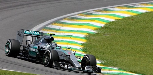 Ф-1. Результаты гонки Гран При Бразилии 2015 года