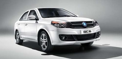 В скором времени в Россию приедет новый седан Geely GC6