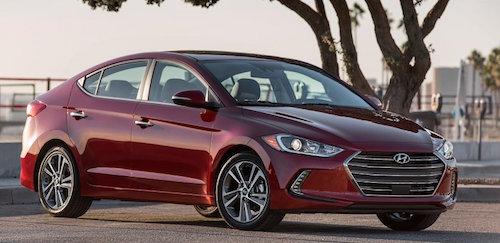 В США официально представили новое поколение седана Hyundai Elantra