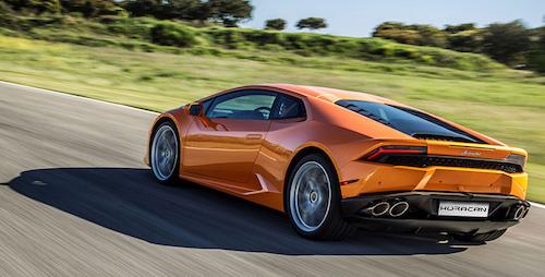 Цена обновленного спорткара Lamborghini Huracan составит 12 млн. 265 тыс. рублей