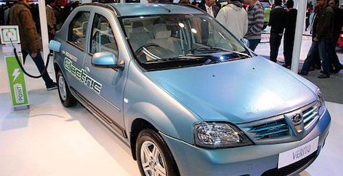 В Индии наладят продажи электрической версии Renault Logan