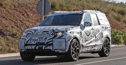 Новый внедорожник Land Rover Discovery 5 представят через год