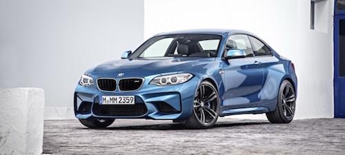 BMW представит новый M2 на автосалоне в Детройте