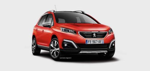 Peugeot обновит кроссовер 2008 к весне 2016 года