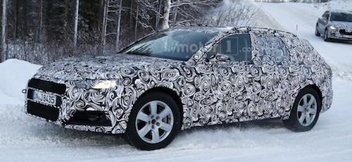 Новый Audi A4 Allroad 2017 замечен во время тестов