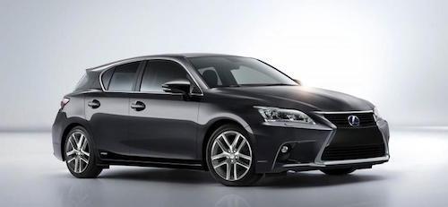 Новое поколение Lexus CT 200h представят в 2017 году