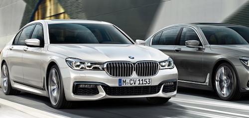 Базовая версия седана BMW 7-Series получит 2-литровый двигатель