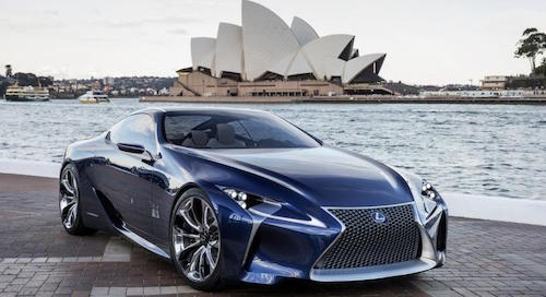 Lexus представит новый спорткар LC500 в январе 2016 года