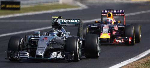 Mercedes готов поставлять моторы для Red Bull c 2017 года