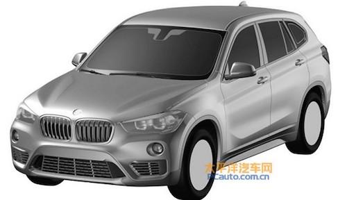 Опубликованы патентные изображения удлиненного BMW X1