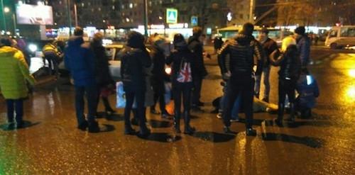 В Петербурге водитель «Жигулей» сбил четверых пешеходов на зебре