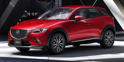 Компания Mazda обновит компактный кроссовер CX-3