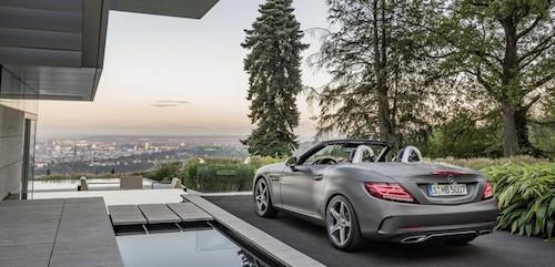 Mercedes-Benz представил новый родстер SLC 2017 модельного ряда
