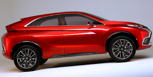 Mitsubishi представила обновленный ASX 2016
