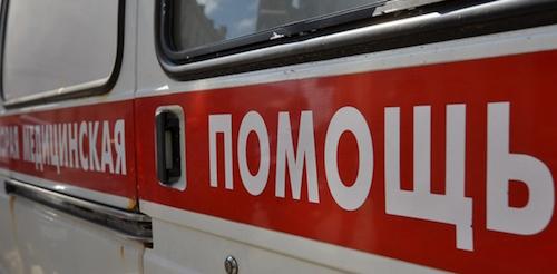 ДТП в Омске - на Машиностроительной перевернулась маршрутка