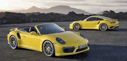 Porsche представила обновленные 911 Turbo и Turbo S