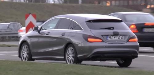 Mercedes-Benz тестирует «фейслифтинг» дизайна CLA и CLA Shooting Brake