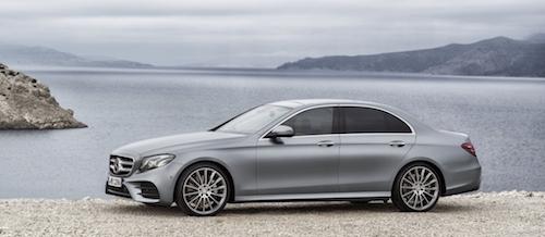 Mercedes-Benz представил в Детройте новое поколение E-Class