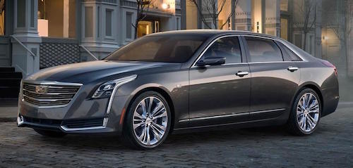 Cadillac будет собирать модель CT6 на заводе в Китае