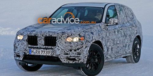 Новый BMW X3 выйдет в продажу не раньше 2017 года