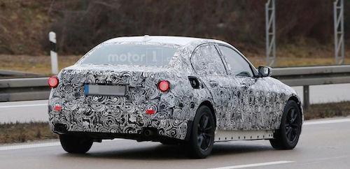 Прототип BMW 3-Series 2018 замечен во время тестов в Европе