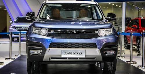 Lifan выведет на рынок кроссовер X70 в первом полугодии 2016-го