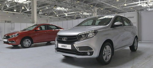 Новый хэтчбек Lada XRay может оказаться популярнее Lada Vesta