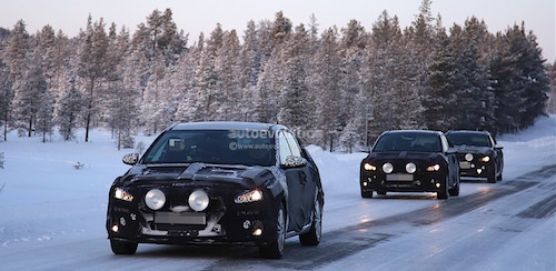 Новый Hyundai i30 2017 замечен на зимних тестовых испытаниях