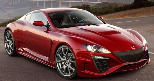Новая Mazda RX-9 получит турбороторный двигатель