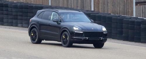 Новый Porsche Сayenne замечен на тестах