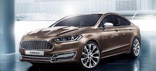 Ford представит в Женеве несколько моделей семейства Vignale